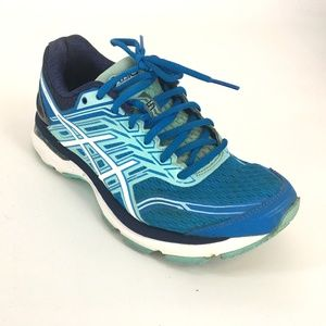 Asics  Athletic Lace Up  Running Shoes